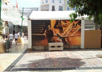 Caseta de San Miguel en la Feria de Málaga 2015