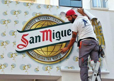 Caseta de San Miguel en la Feria de Málaga 2015-2019
