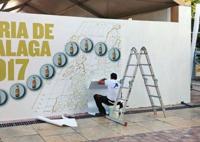Caseta de San Miguel en la Feria de Málaga 2017