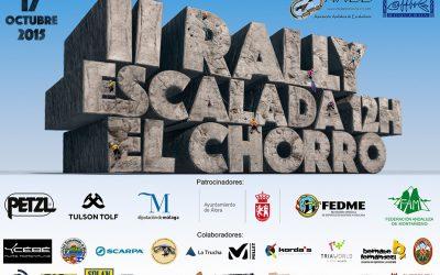 II Rally de Escalada 12h El Chorro