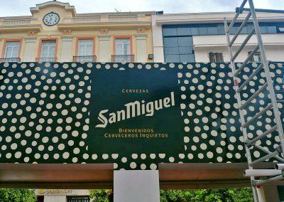 Caseta de San Miguel en la Feria de Málaga 2019