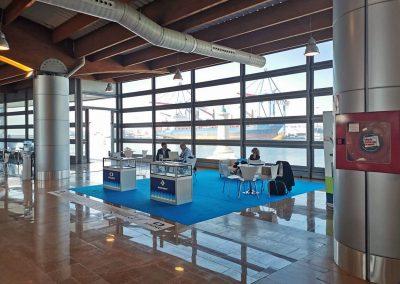 Feria VOIP2DAY19 en la Terminal de Cruceros de Málaga