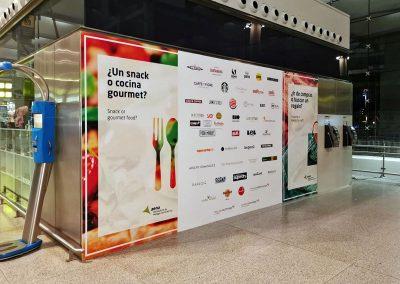 Aeropuerto de Málaga 1ª Fase Branding Comercial