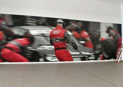 Fotografías de gran-formato en nuevas instalaciones de Audi Safamotor