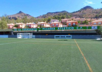 Patrocinio en el campo del Pizarra Atlético C.F.
