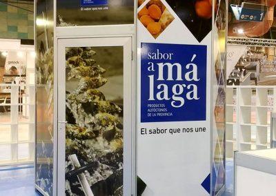 Vinilado de stands para Sabor a Málaga en el Salón de Innovación en Hostelería H&T