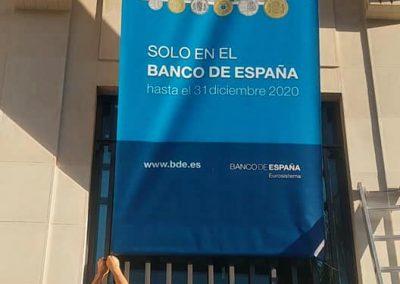 Lonas para la sede del Banco de España en Málaga