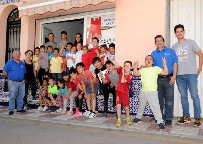 Visita del CEIP El Hacho a Imprenta Castillo
