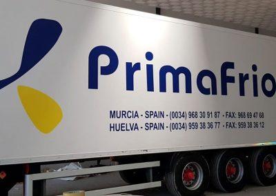 Camión de Primafrío