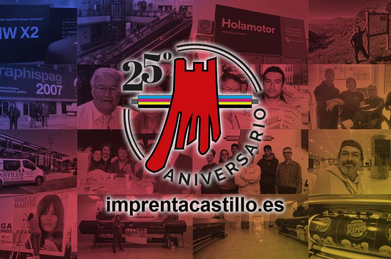 25 Aniversario Imprenta Castillo