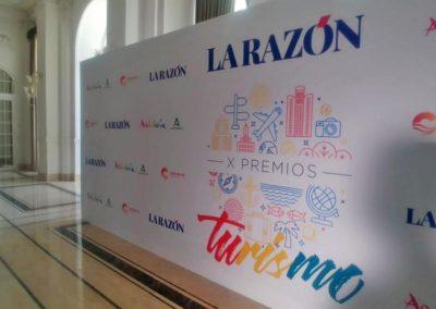 Photocall X Premios al Turismo del Diario La Razón